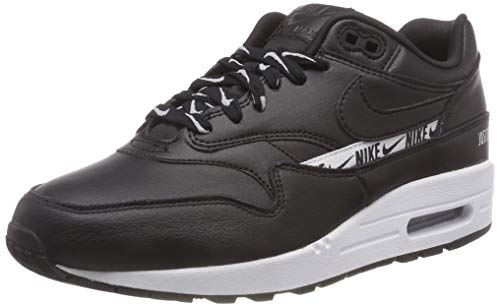 Nike Damen WMNS Air Max 1 Se Fitnessschuhe, Schwarz (Black/White 005), 38.5 EU