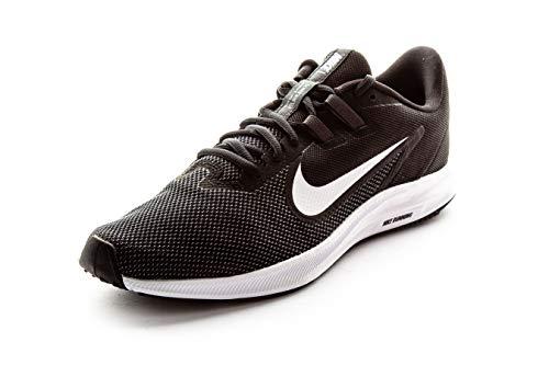 Nike Men's Downshifter 9 Running Shoe, Black/White-Anthracite-Cool Grey, 11 Regular US