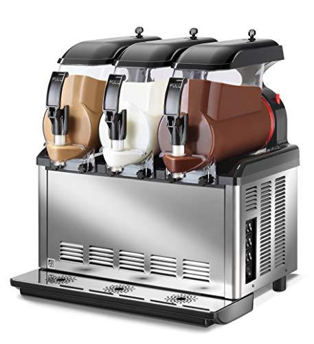 SPM - Dispensador compacto de cremas frías y sorbetes SP 3 - Mecánica - Capacidad 3 x 5 litros. - 100% fabricado en Italia