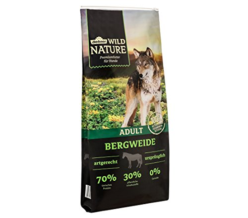Dehner Wild Nature Hundetrockenfutter Adult, Bergweide, 12 kg