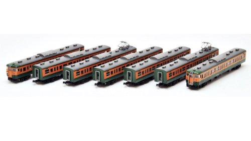 J.N.R. Suburban Train Series 115-1000 (Shonan Color) (Basic A 7-Car Set) (Model Train)