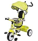 Colibri 00118003 Triciclo Colibrino, Dimensioni 86 x 50 x 98 cm, Colore Verde