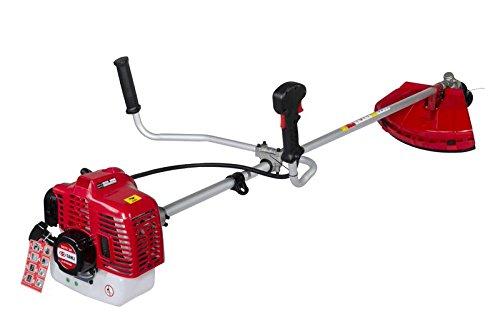 Sanli SGTS33 - Desbrozadora térmica profesional (230 V), color rojo