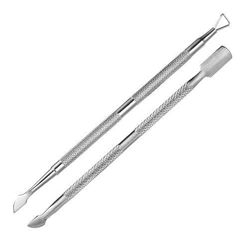 2/4 piezas de manicura de belleza de doble punta pedicura herramienta...