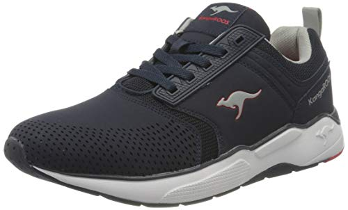 KangaROOS Herren KO-Cash Sneaker, Dark Navy/Vapor Grey 4075, 43 EU