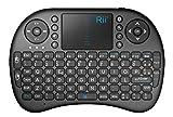 Rii Mini i8 Bluetooth (Layout Italiano) - Mini Tastiera con Mouse touchpad per Fire TV, Tablet, Smartphone, Mini PC, Computer,...