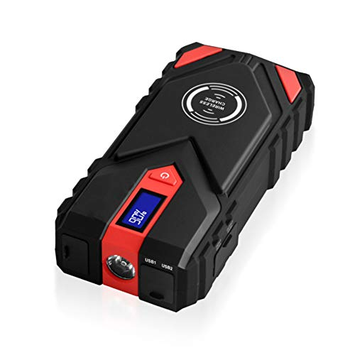 Z&LEI Dispositivo de Inicio, Salto de automóvil Start Booster Power Bank Battery Starter 1600A 20000mAh Emergency Starter-up para Auto