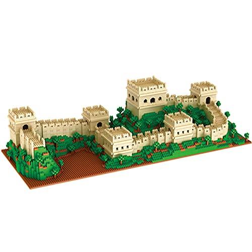 Kit Model Building Block, China Great Wall Model Construction Toys 4114pcs Micro Mini Bricks 3D Puzzle Juguetes educativos, Regalo para niños y Adultos