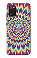 JP3162A3S カラフルなサイケデリック Colorful Psychedelic For Samsung Galaxy A03S 用ケース