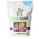 Nature Gnaws Small Dog Chews Variety Pack - Premium Natural Beef - Combo Bag of Bully Sticks, Tendons and Beef Jerky for Dogs - Rawhide Free (12 Count)