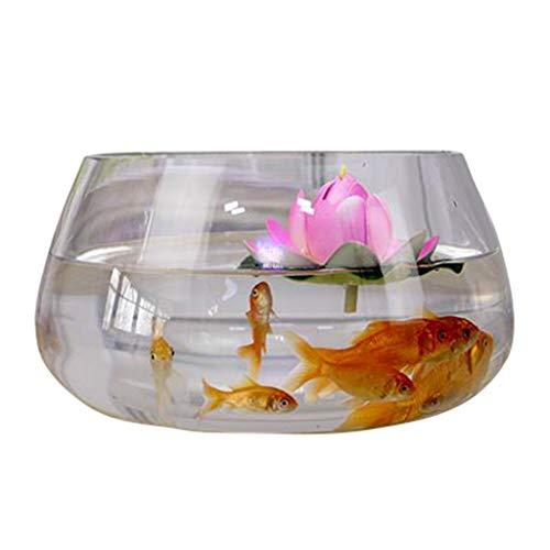 Aquarium Ecologische Ronde Glas Goudvis Tank Grote Turtle Tank Mini Kleine Aangelegde Water Cultuur Vaas