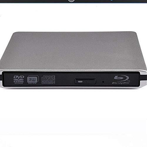 Tokenhigh BLU Ray 3D Lector DVD Externo, USB 3.0 Grabador de Unidad...