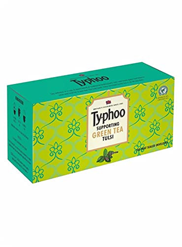 Typhoo Traditional Tulsi Green Tea Bags (100 Tea Bags)