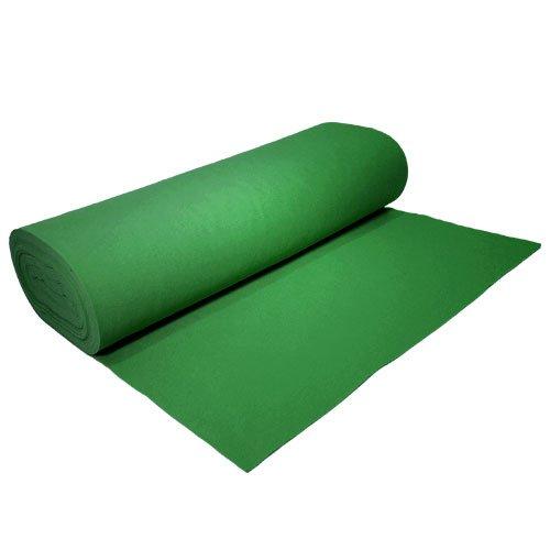 Fieltro sintético cortes al metro, verde hierba, 1,82 x 1 m