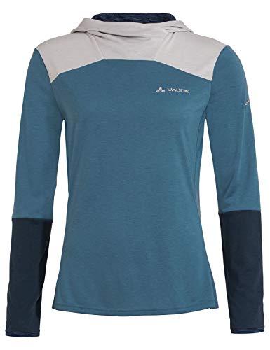 VAUDE Damen T-shirt Women's Tremalzo LS Shirt, blue gray, 42, 40868