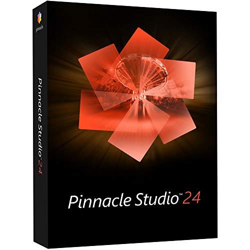 PinnacleStudio 24 | Software di registrazione di schermate ed editing video [disco per PC]