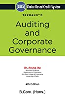 Taxmann's Auditing and Corporate Governance   Choice Based Credit System (CBCS)   B.Com (Hons.)   4th Edition   January 2021