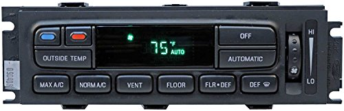 APDTY 600141 AC Heat Climate Control Head Module Switch w/Auto-Temp Control For 2003-2011 Ford Crown Victoria Mercury Grand Marquis 2003-2004 Marauder (Replaces 3W7H18C612AC 3W7Z19980AA 6W7H19C933AA)