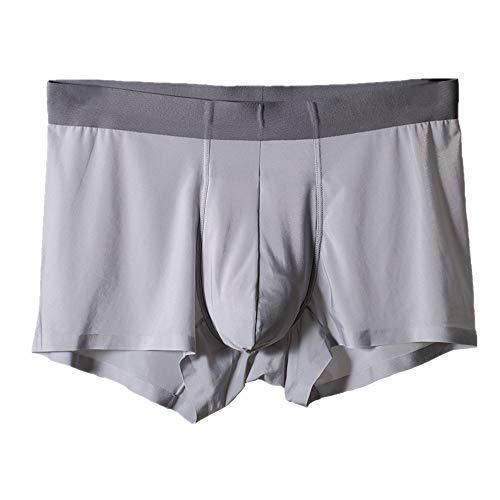 Preisvergleich Produktbild Nobrand New Ice Silk Seamless Herren-Unterwäsche,  dreidimensionaler Schnitt Gr. XXL,  grau