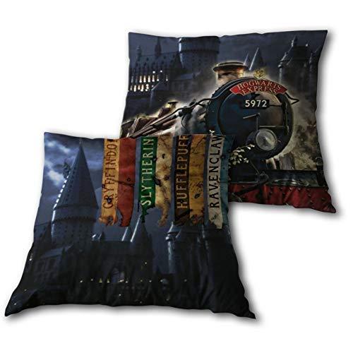 Hogwarts Express - Cojín con relleno (35 x 35 cm), diseño de Harry Potter