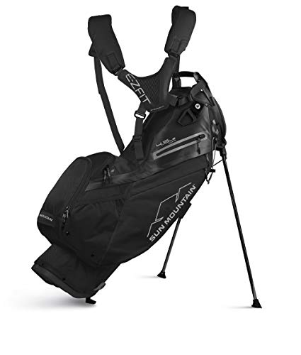 Sun Mountain 2020 4.5 LS Stand Bag (Black, 4.5 LS 14-W)