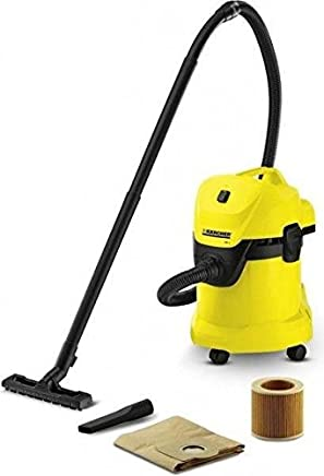 Karcher WD 3 Bagless Wet and Dry Multi-Purpose Vacuum Cleaner - 1000W, 16298060