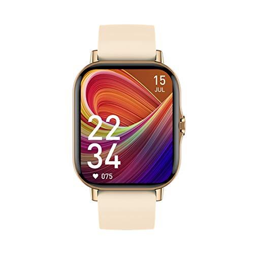 Dray Smart Watch, Reloj Inteligente con Oxígeno Sanguíneo Presión Arterial Frecuencia Cardíaca, Pulsera Actividad Impermeable IP67 para Hombre Mujer para Android iOS Smartwatch Mujer, Regalo Navidad