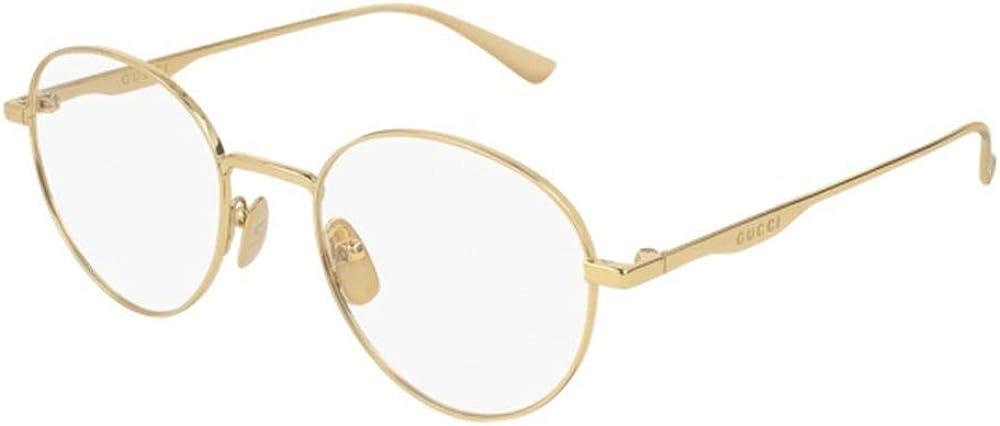 Gucci Gafas de Vista GG0337O GOLD 51/20/145 hombre