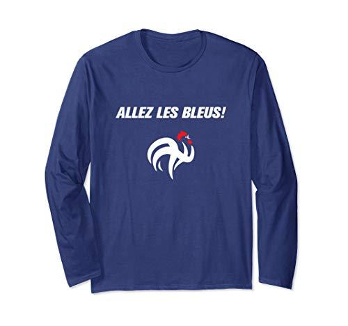 France Soccer Football World Jersey Allez Les Bleus Shirt