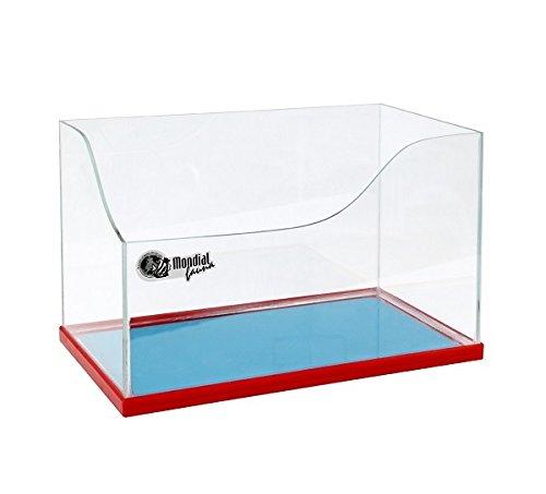Schildkröten-Terrarium ho-h–Teca aus Glas mit Rahmen aus Kunststoff