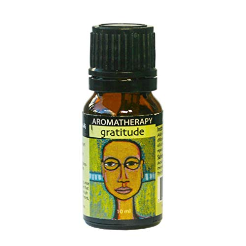 Earth Solutions Affirmation Oil | Gratitude, 10ml | Aromatherapy Diffuser Oils | A Calm Essential Oil Blend with Positive Affirmations | Natural Therapeutic Grade Essential Oil