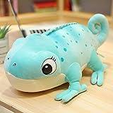Cyaukm Simulación Cawler Chameleon Dragon Gongbao Llush Toy Doll Car, Almohada, Divertida muñeca de niños FEA