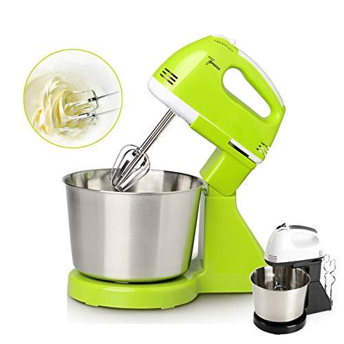 Professionele elektrische handmixer Krachtige handmixer met 5 snelheden voor het bakken van keukens Mini-roomklopper voor in de keuken,Green