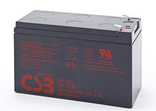 CSB Battery - Batterie plomb CSB 12V 7.2Ah GP1272 cosses standard - GP1272