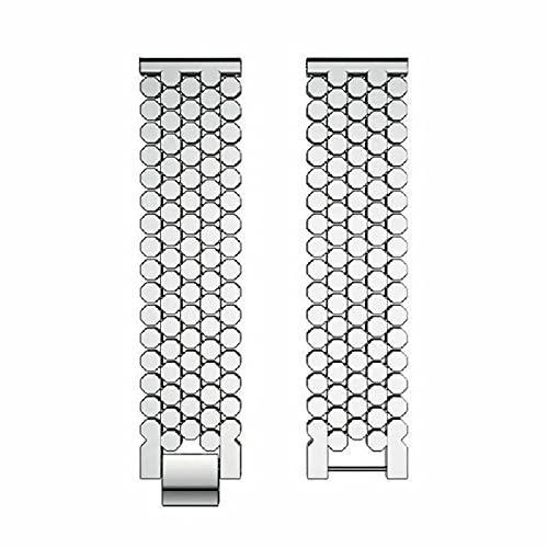 Pulsera de metal de aleación de 46 mm para reloj Samsung Galaxy Watch Negro Plata, Plateado,