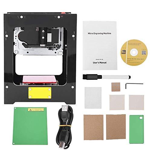 1500mw Impresora grabadora láser, operación fuera de línea de alta resolución de la máquina de grabado láser, soporte Win 7, XP, Win 8, Win 10, IOS 9.0, Android 4.0