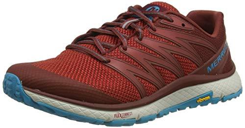 Merrell Bare Access XTR, Zapatillas para Caminar Hombre, Rojo (Magma), 42 EU