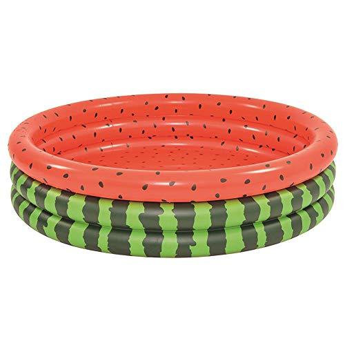 Familie Opblaasbaar Zwembad, Watermeloen Opblaasbare Kinderen Badkuip, voor Buitengebruik Thuis