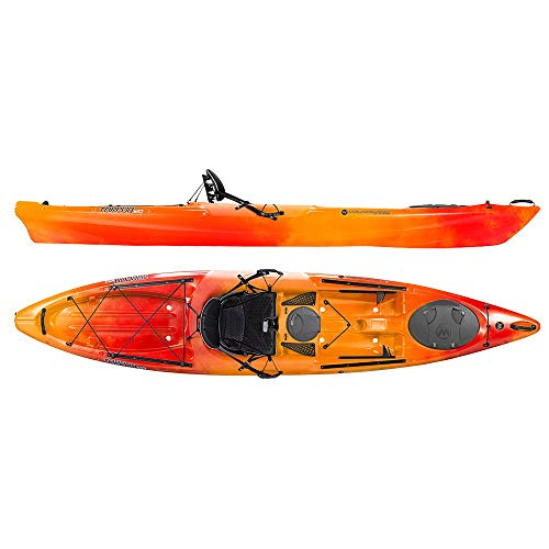 Wilderness Systems 9750215054 Tarpon 120 Kayaks, Mango, 12'