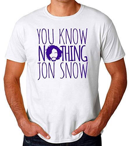 You Know Nothing Jon Snow Männer T-Shirt Medium