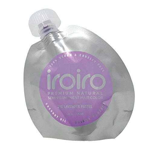 IROIRO 210 Pastel Lavender Premium Natural Semi Permanent Hair Color
