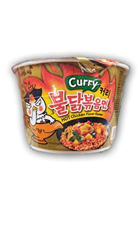 Samyang sabor a pollo caliente Ramen - sabor a curry (cuenco) 105 g