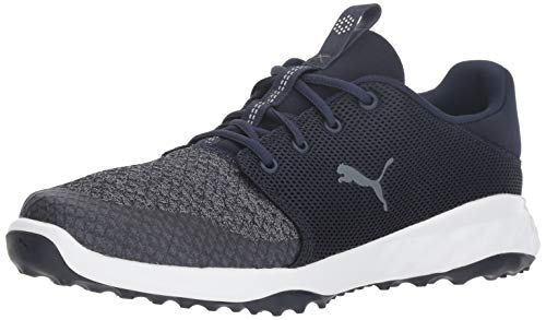PUMA Golf Men's Grip Fusion Sport Golf Shoe, Peacoat-Quiet Shade, 8 M US