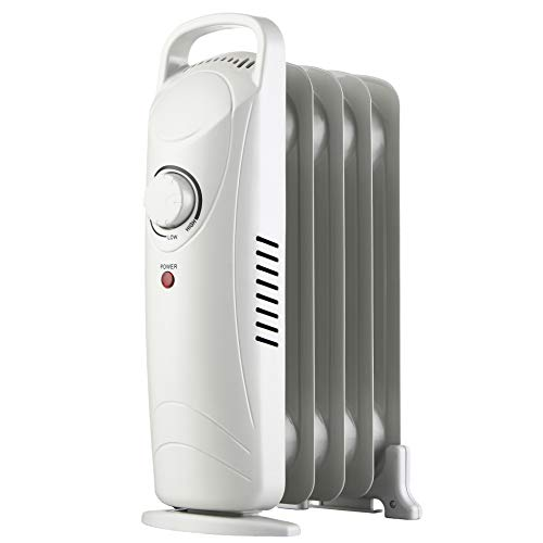 DONYER POWER Oil Filled Radiator 7 Fin, 3 Heat Settings,1500W,Thermostat Electric Heater