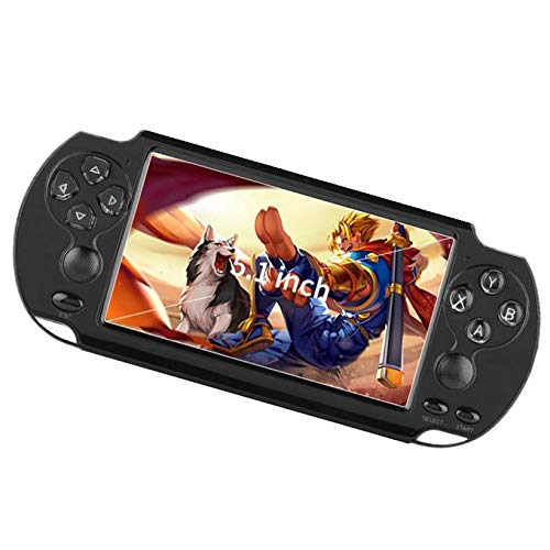 Young&Rich Keaoll Handheld Game- Video Game Console, X9-s 8G Built-in 1,000+ Games 5.1 Inch HD Screen with Lens