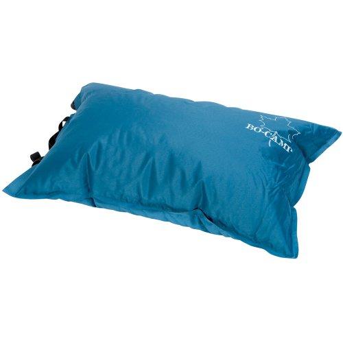 Camping Kissen 46 cm, selbstaufblasend mit Tasche, Soft-Touch-75D Polyester, Farbe anthrazit