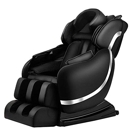New MMZX Full-Body Massaging Chair with 5 Automatic Programs Zero Gravity Space Capsule, Air Massage...