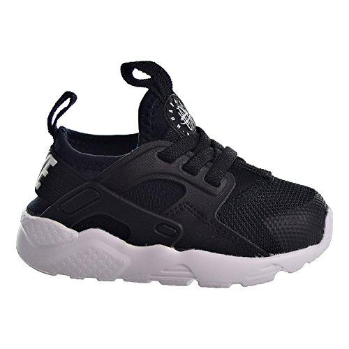 Nike Huarache Run Ultra (TD), Pantofole Unisex-Bimbi 0-24, Nero (Black/White 020), 19.5 EU