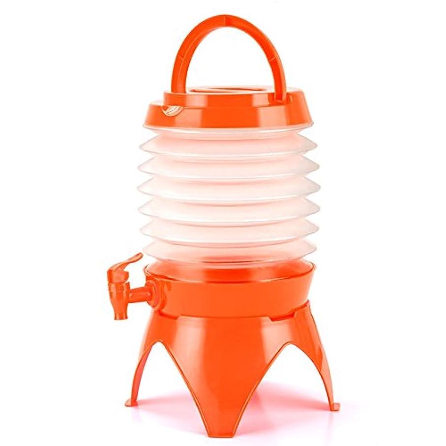 音声ウガンダリボンCIKA ジャバラ ウォーター ジャグ 折り畳み 持ち運ぶ便利 ウォータータンク 給水タンク 5L