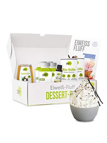 Pumperlgsund Dessert Fluff Starter-Box (Vanille, für ca. 24 Fluffs)